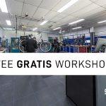 Gratis workshops over fietsonderhoud